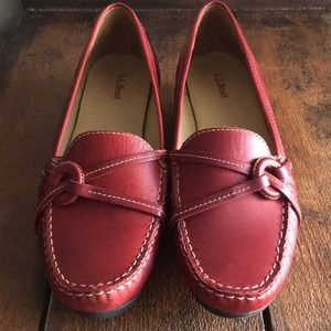 NWOT!!! L.L.Bean genuine leather loafers